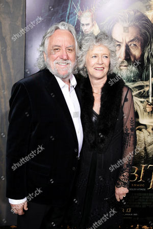 Stock Picture of Production designer Dan Hennah and Chris Hennah seen at New Line Cinema Premiere of 'The Hobbit: The Desolation of Smaug', held at the Dolby Theatre on in Los Angeles