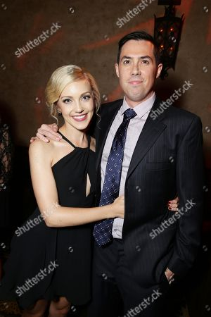 """Stock Picture of Breanne Hill and Director Brad Peyton seen at New Line Cinema presents the Los Angeles World Premiere of """"San Andreas"""" at TCL Chinese Theatre, in Hollywood, CA"""