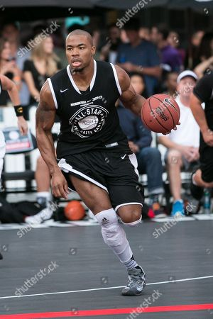 Editorial picture of Nike Basketball 3ON3 Tournament - ESPNLA 710 All-Star Celebrity Game, Los Angeles, USA - 7 Aug 2015