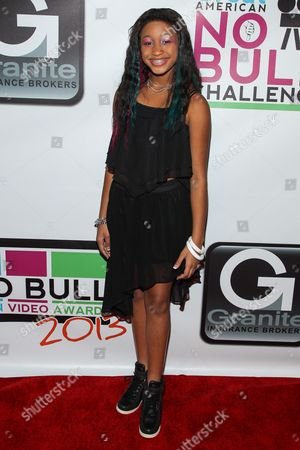 Editorial image of No Bull Teen Video Awards, Los Angeles, USA - 10 Aug 2013