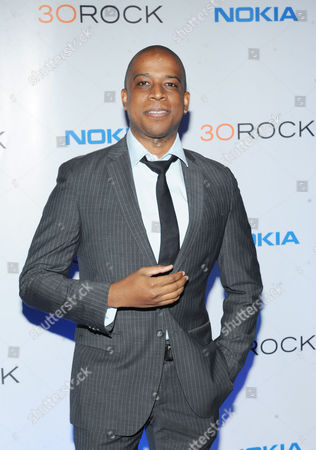 """Keith Powell attends the Nokia """"30 Rock"""" wrap party on in New York"""