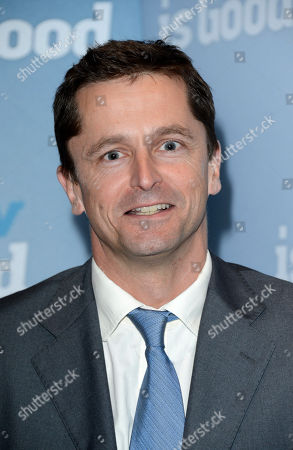 Producer Pete Czernin poses at Now is Good European Premiere at The Washington Hotel on in London