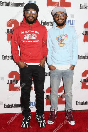 "Keith Lucas and Kenny Lucas attend the premiere of ""22 Jump Street"", in New York"