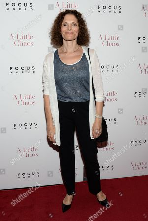 """Mary Elizabeth Mastrantonio attends the premiere of """"A Little Chaos"""" at the Museum of Modern Art, in New York"""