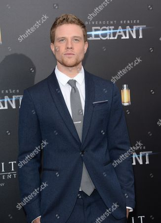 """Editorial image of NY Premiere of """"Allegiant"""", New York, USA - 14 Mar 2016"""
