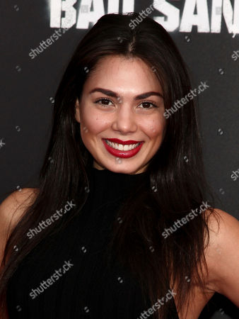"""Stock Image of Amanda Faical attends the premiere of """"Bad Santa 2"""" at AMC Loews Lincoln Square, in New York"""