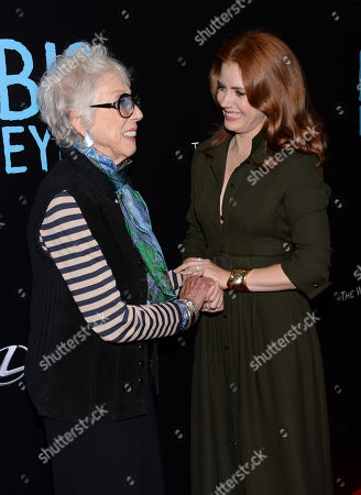 """Editorial image of NY Premiere of """"Big Eyes"""" - Arrivals, New York, USA - 15 Dec 2014"""