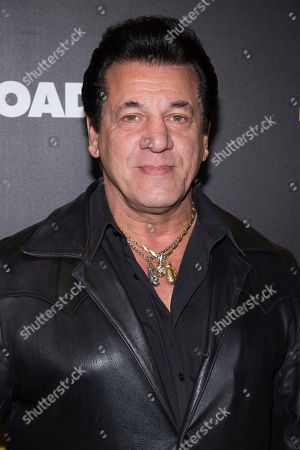 "Chuck Zito attends the premiere of ""Bleed For This"" hosted by Open Road and Men's Fitness at AMC Loews Lincoln Square, in New York"