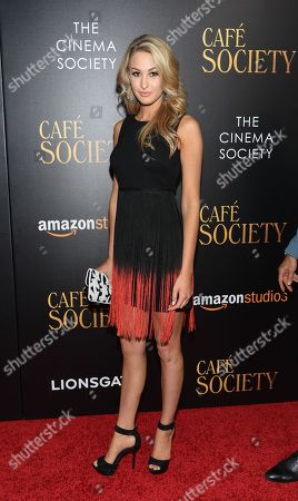"""Alissa Morrison attends the premiere of Amazon Studio and Liongate's """"Cafe Society"""", hosted by The Cinema Society, at the Paris Theatre, in New York"""
