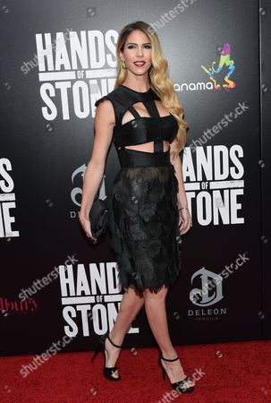 """Editorial image of NY Premiere of """"Hands of Stone"""", New York, USA - 22 Aug 2016"""