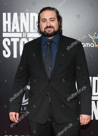 """Director and screenwriter Jonathan Jakubowicz attends the U.S. premiere of """"Hands of Stone"""" at the SVA Theatre, in New York"""
