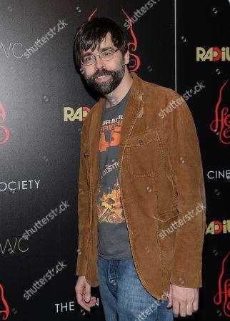 "Joe Hill arrives at the New York premiere of ""Horns"" at the Landmark Sunshine Cinema on"
