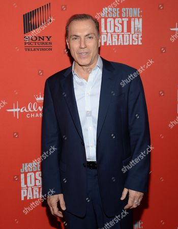 """Actor Al Sapienza attends the Hallmark Channel """"Jesse Stone: Lost in Paradise"""" world premiere at The Roxy Hotel on in New York"""
