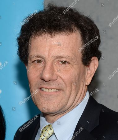 """Author Nicholas Kristof attends the premiere of """"Meena"""" at the AMC Loews Theater on in New York"""