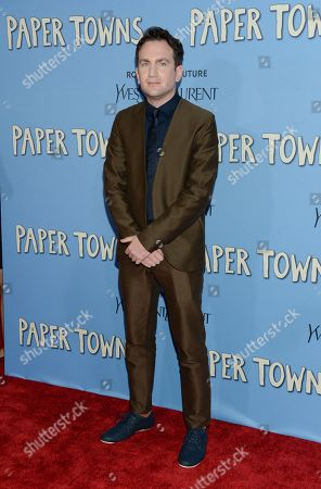"""Stock Image of Director Jake Schreier attends the premiere of """"Paper Towns"""" at AMC Loews Lincoln Square, in New York"""