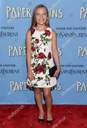 """Editorial photo of NY Premiere of """"Paper Towns"""", New York, USA - 21 Jul 2015"""