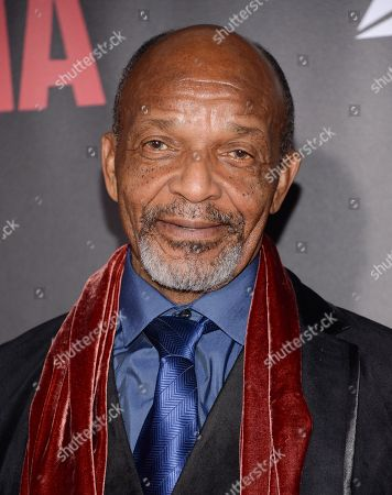 """Henry G. Sanders attends the premiere of """"Selma"""" at the Ziegfeld Theatre, in New York"""