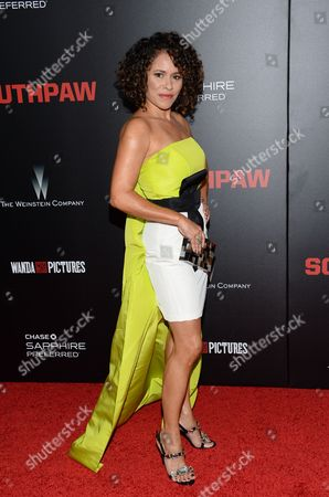 """Editorial photo of NY Premiere of """"Southpaw"""", New York, USA - 20 Jul 2015"""