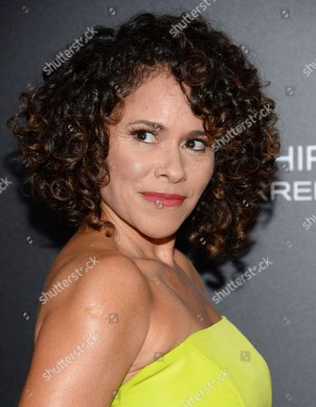 """Lana Young attends the premiere of """"Southpaw"""" at the AMC Loews Lincoln Square, in New York"""