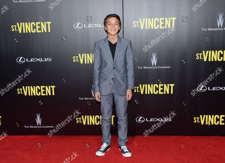 "Stock Picture of David Iacono attends the ""St. Vincent"" premiere at the Ziegfeld Theatre, in New York"