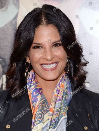 """Darlene Rodriguez attends the premiere for """"Suffragette"""" at the Paris Theatre, in New York"""