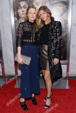 "Mamie and Louisa Gummer attend the premiere for ""Suffragette"" at the Paris Theatre, in New York"