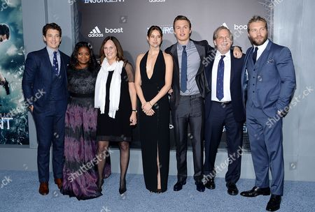 """Editorial picture of NY Premiere Of """"The Divergent Series: Insurgent"""", New York, USA - 16 Mar 2015"""