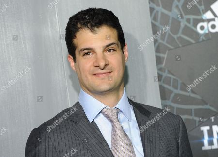 """Producer Pouya Shahbazian attends the premiere of """"The Divergent Series: Insurgent"""" at the Ziegfeld Theatre, in New York"""