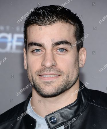 """Thomas Canestraro attends the premiere of """"The Divergent Series: Insurgent"""" at the Ziegfeld Theatre, in New York"""