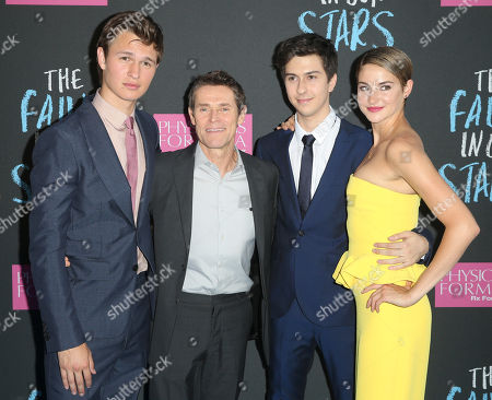 """Editorial picture of NY Premiere of """"The Fault In Our Stars"""", New York, USA - 2 Jun 2014"""