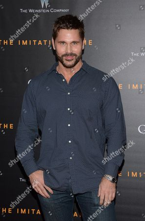 "Jack Mackenroth attends the premiere of ""The Imitation Game"" at Ziegfeld Theatre, in New York"