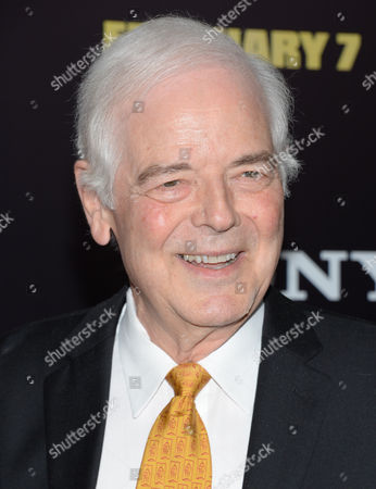 """Nick Clooney attends the premiere of """"The Monuments Men"""" at the Ziegfeld Theatre on in New York"""