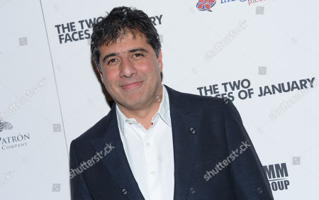 """Hossein Amini attends the premiere of """"The Two Faces of January"""" at the Landmark Sunshine Theater, in New York"""
