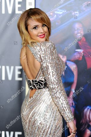 "Actress Hayley Marie Norman attends the premiere of ""Top Five"" at the Ziegfeld Theatre, in New York"