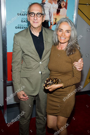 """Stock Image of Michael Shamberg and Carla Santos Shamberg attend the premiere of """"Wish I Was Here"""" on in New York"""