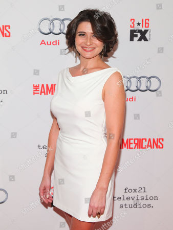 """Vera Cherny attends FX's """"The Americans"""" Season 4 premiere at the NYU Skirball Center for the Performing Arts, in New York"""