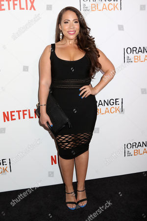 """Rosal Colon attends a premiere event celebrating season four of Netflix's """"Orange Is the New Black"""", at the SVA Theatre, in New York"""