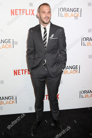 "Evan Arthur Hall attends a premiere event celebrating season four of Netflix's ""Orange Is the New Black"", at the SVA Theatre, in New York"