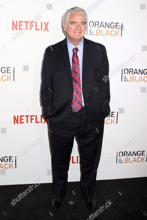 """Michael Harney attends a premiere event celebrating season four of Netflix's """"Orange Is the New Black"""", at the SVA Theatre, in New York"""
