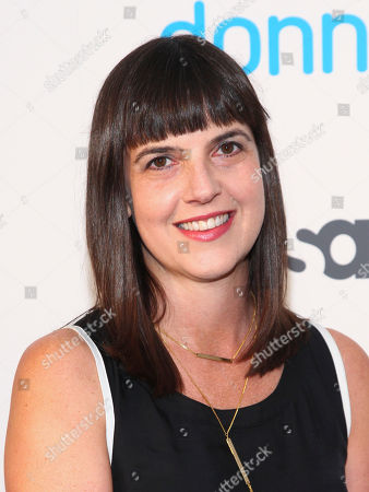 "Stock Picture of Angie Day attends the premiere of the USA Network scripted comedy series ""Donny!"" at The Rainbow Room, in New York"
