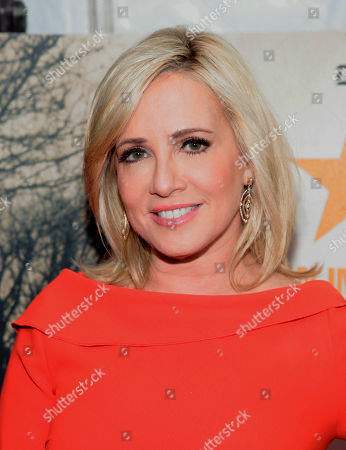 """Television journalist Jamie Colby attends the New York premiere of """"The Railway Man"""", in New York"""