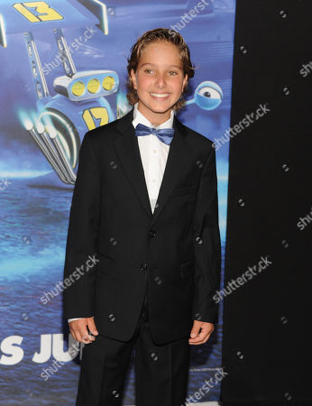 """Stock Picture of Actor Aaron Berger attends the premiere of DreamWorks' """"Turbo"""" at the AMC Loews Lincoln Square on in New York"""