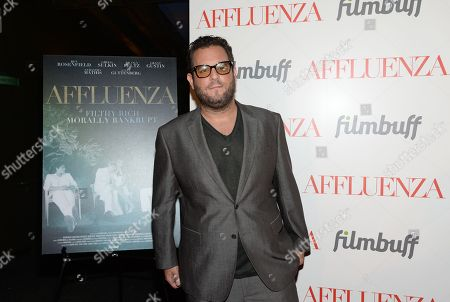 """Director Kevin Asch attends a special screening of """"Affluenza"""" at the SVA Theater on in New York"""
