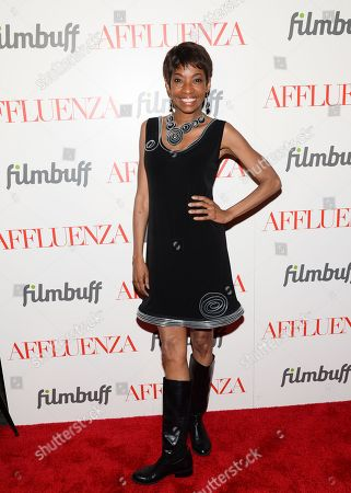 """Actress Adriane Lenox attends a special screening of """"Affluenza"""" at the SVA Theater on in New York"""