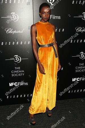 "Nicole Atieno ""Disorder"" at Landmark Sunshine Cinema, in New York"