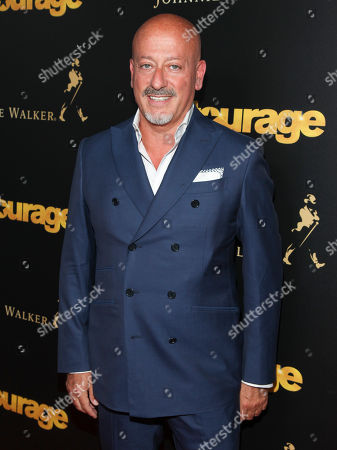 "Domenico Vacca attends a special screening of ""Entourage"" at The Paris Theater, in New York"
