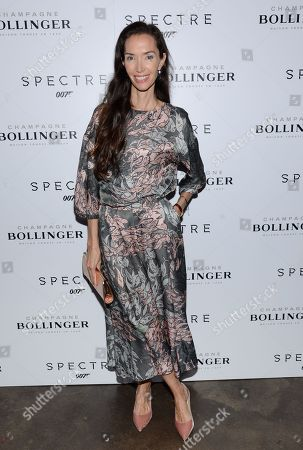 "Olivia Chantecaille attends a pre-release special screening of ""Spectre"", hosted by Champagne Bollinger with The Cinema Society, at the IFC Center, in New York"