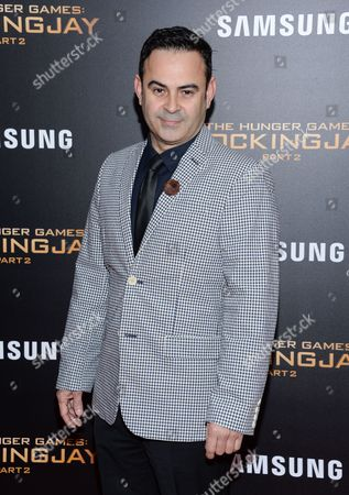 """Nelson Ascencio attends a special screening of """"The Hunger Games: Mockingjay Part 2"""" at the AMC Loews Lincoln Square, in New York"""