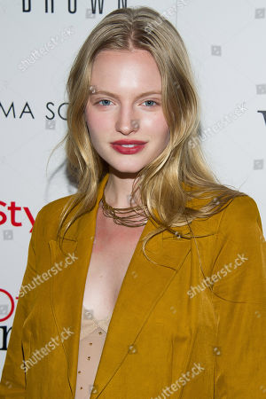 Isabella Farrell attends the premiere of 'The Other Woman' hosted by The Cinema Society and Bobbi Brown on in New York