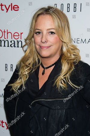 """Julie Yorn attends the premiere of """"The Other Woman"""" hosted by The Cinema Society and Bobbi Brown on in New York"""